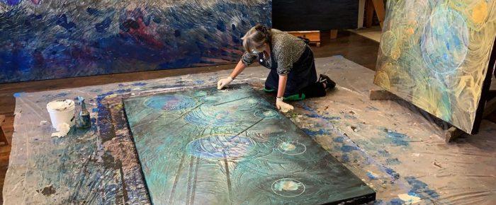 Featured on SHOUTOUT LA: Meet Angelica Sotiriou Sotiriou | Artist
