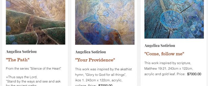 Angelica Sotiriou Featured in the Orthodox Arts Festival