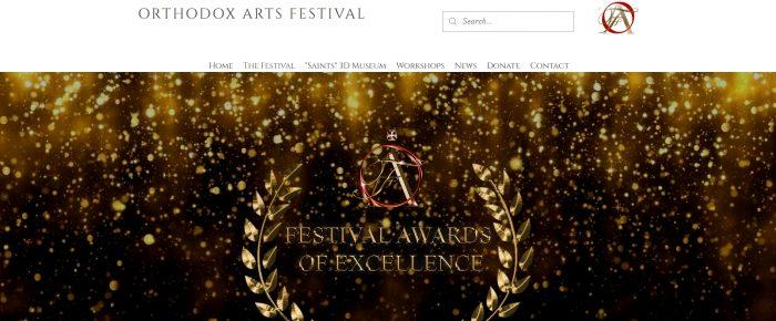 Angelica Sotiriou: Orthodox Arts Festival Excellence Award Winner!