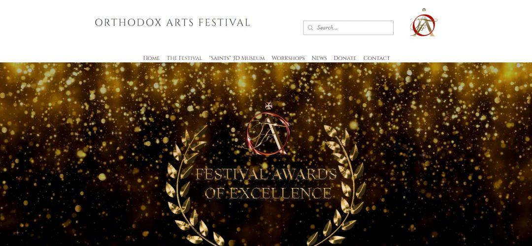 Angelica Sotiriou, Orthodox Artist | Orthodox Arts Festival Award of Excellence Screenshot